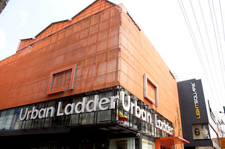 Urban ladder:  Commercial Spaces by D'insignia Arcitects