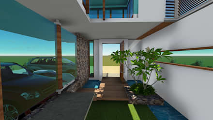 Bungalows by D'insignia Arcitects