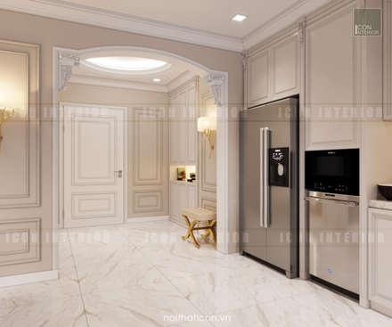 Thiết kế nội thất phong cách Tân Cổ Điển: Nội thất chất lượng - Cuộc sống đẳng cấp:  Cửa ra vào by ICON INTERIOR