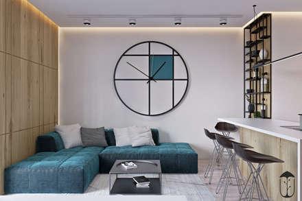 UI005: Гостиная в . Автор – U-Style design studio