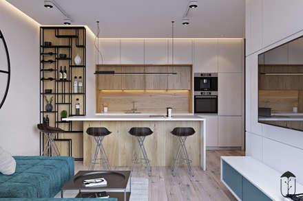 ห้องนั่งเล่น by U-Style design studio