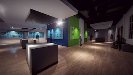 Exhibition centres by NATIVAARQUITECTOS E.I.R.L