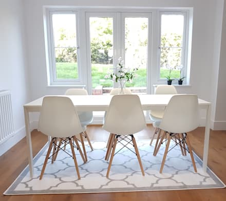 Scandi style House: scandinavian Dining room by THE FRESH INTERIOR COMPANY
