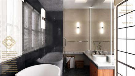 MASTER BATHROOM: modern Bathroom by Enrich Artlife & Interior Design Sdn Bhd