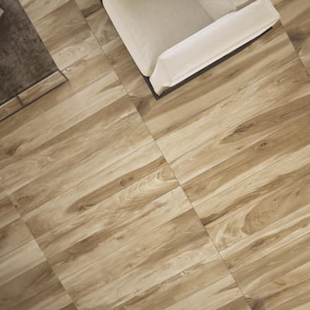 Gres porcellanato effetto legno serie Essenze: Pavimento in stile  di WEBTILES CERAMICHE