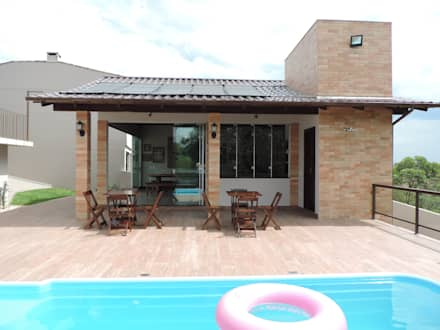 Piscinas de jardín de estilo  por Machado Fontana | Arquitetura e Interiores