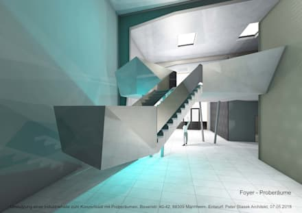 صالة مناسبات تنفيذ Peter Stasek Architects - Corporate Architecture