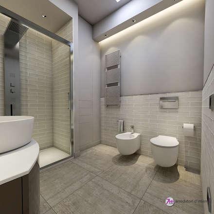 Bagno: Bagno in stile in stile Moderno di Studio 7sei