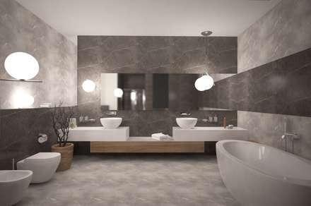 Лоренцо_661 кв.м: Ванные комнаты в . Автор – Vesco Construction