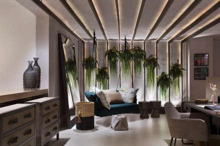 modern Conservatory by Patrícia Netto Arquitetura & Design
