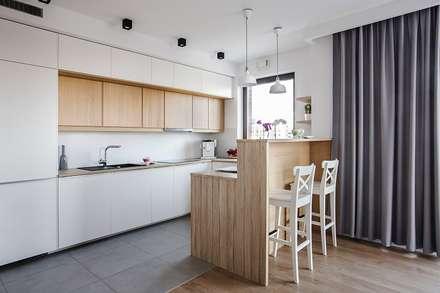 Good Morning Warsaw: styl , w kategorii Kuchnia zaprojektowany przez Perfect Space