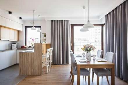 Good Morning Warsaw: styl , w kategorii Jadalnia zaprojektowany przez Perfect Space