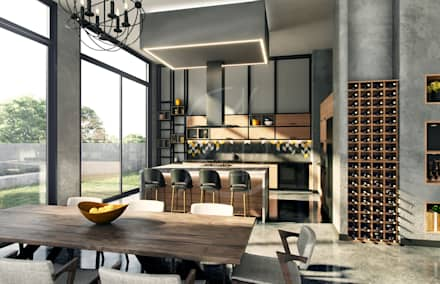 Built-in kitchens by Comelite Architecture, Structure and Interior Design