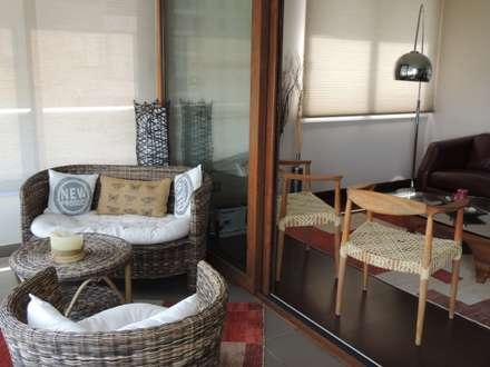 Terrraza: Terrazas  de estilo  por Kaa Interior