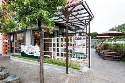 三峽長青穀典-餐廳 (自然 有機 無毒):  餐廳 by 青易國際設計