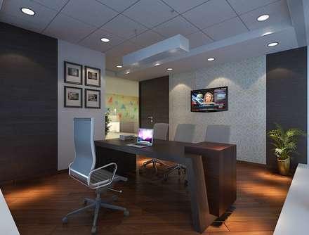 ARKEMA: modern Study/office by smstudio