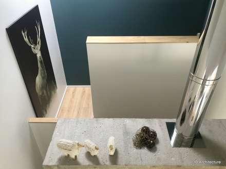Montée d'escalier: Escalier de style  par 3B Architecture