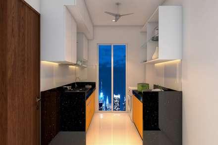 :  Kitchen units by Interioarch Design Lab