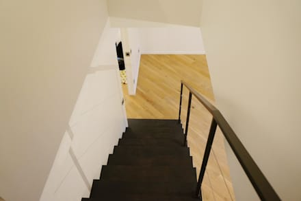 Rénovation escaliers: Escalier de style  par Optiréno