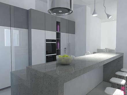 Built-in kitchens by CASE IN PUNTA DI MOUSE di Maura Proietto