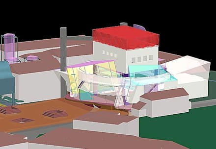 Theater in Jena - Erweiterung und Anbau:  Villa von ARCHITEKTUR STUDIO