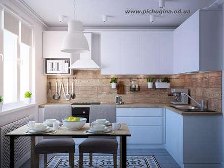 Квартира,  80 м.кв.: Кухни в . Автор – Tatyana Pichugina Design