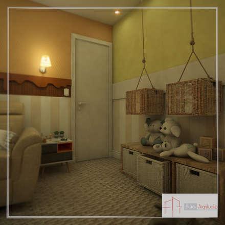 غرف الرضع تنفيذ Aúra Arqstudio