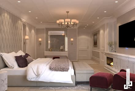 St. Regis hotel apartment: classic Bedroom by dal design office