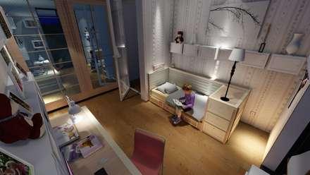Habitaciones para niñas de estilo  por ARS İç Mimarlık