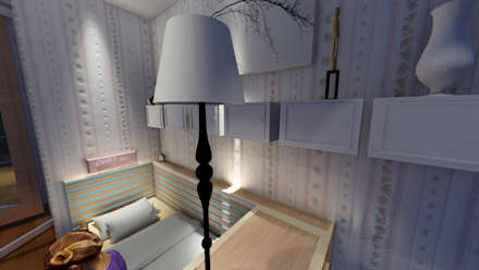 Girls Bedroom by ARS İç Mimarlık