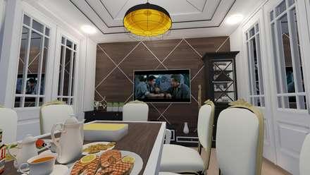 ARS İç Mimarlık – Yemek Odası: modern tarz Yemek Odası