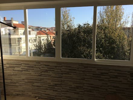 uPVC windows by Lx Obras
