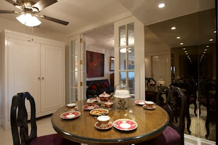 Dinning Room: country Dining room by Bric Design Group