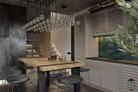 UI007: Гостиная в . Автор – U-Style design studio