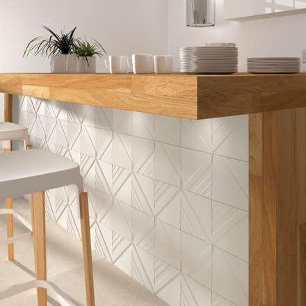 : minimalistic Kitchen by DUNE CERAMICA