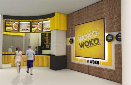 Woko Woko: Locales gastronómicos de estilo  por Diseñador Paul Soto