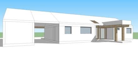 منزل خشبي تنفيذ Constructora Rukalihuen