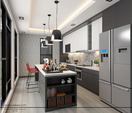 moderne Küche von Revel