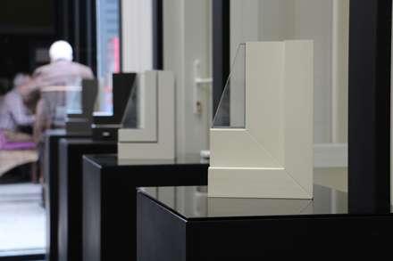 Ventanas de PVC de estilo  por Carpintería Metálica Vensis Sistemas y Cerramientos
