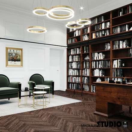 Phòng học/Văn phòng by MIKOŁAJSKAstudio