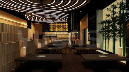Bars & clubs by Yucas Design & Build Sdn. Bhd.