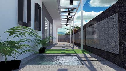 Garden Pond by Yucas Design & Build Sdn. Bhd.