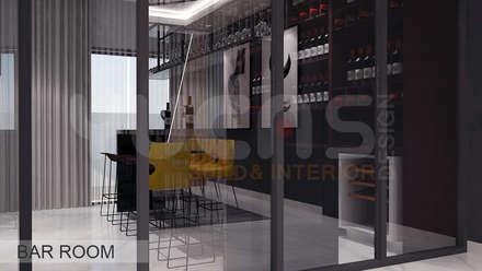 asian Wine cellar by Yucas Design & Build Sdn. Bhd.
