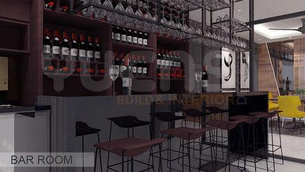 قبو النبيذ تنفيذ Yucas Design & Build Sdn. Bhd.
