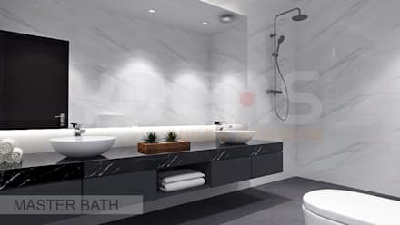 Semi-D at Jln Ipoh: asian Bathroom by Yucas Design & Build Sdn. Bhd.