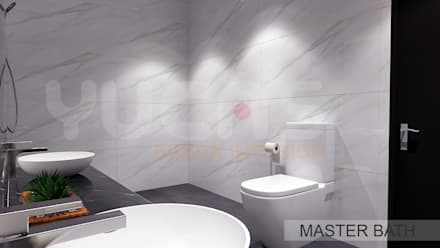 asian Bathroom by Yucas Design & Build Sdn. Bhd.