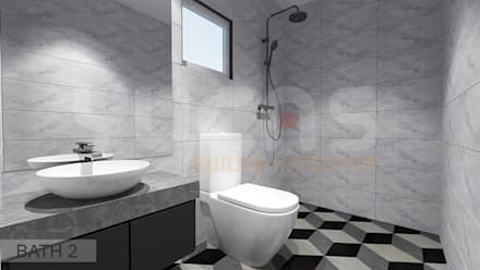 asian Bathroom by Yucas Design & Build Sdn. Bhd.
