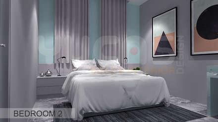 Semi-D at Jln Ipoh: asian Bedroom by Yucas Design & Build Sdn. Bhd.