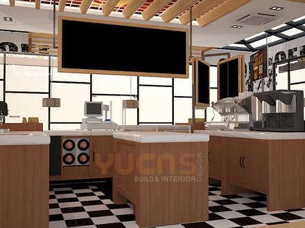 محلات تجارية تنفيذ Yucas Design & Build Sdn. Bhd.