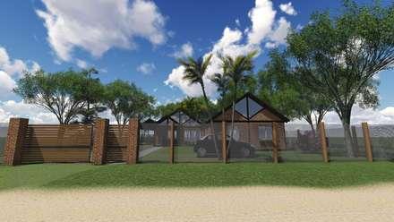 Rumah tinggal  by Estudio Schwartz Arquitectura